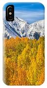 Colorado Rocky Mountain Autumn Beauty IPhone Case