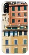 Colored Italian Facades IPhone Case