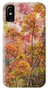 Colored Pallet Smoke Trees IPhone Case