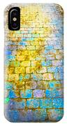 Colored Stones And Lichen Covered Bridge IPhone Case
