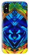 Colorful Abstract Art - Purrfection - By Sharon Cummings IPhone Case