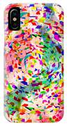 Colorful Abstract Circles IPhone Case