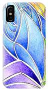 Colorful Abstract Drawing IPhone Case