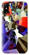 Colorful Abstract Geometric Cluster IPhone Case