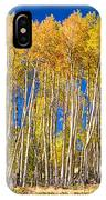 Colorful Aspen Panorama IPhone Case