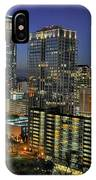 Colorful Austin Skyline At Night IPhone Case