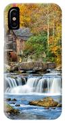 Colorful Autumn Grist Mill IPhone Case