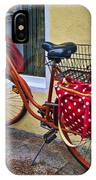 Colorful Bike IPhone Case