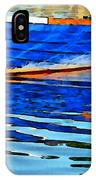 Colorful Boat On The Water IPhone Case