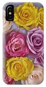 Colorful Bouquet Of Roses IPhone Case