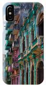 Colorful Buildings In Havana IPhone Case