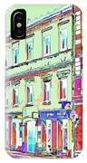 Colorful Buildings IPhone Case