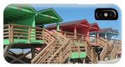 Colorful Cabanas IPhone Case