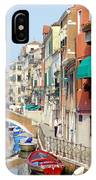 Colorful Canal IPhone Case