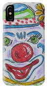 Colorful Clown IPhone Case