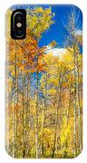 Colorful Colorado Autumn Aspen Trees IPhone Case
