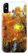 Colorful Cottonwoods IPhone Case