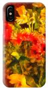 Colorful Cut Flowers - V2 IPhone Case