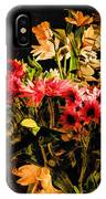 Colorful Cut Flowers - V3 IPhone Case