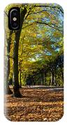 Colorful Fall Autumn Park IPhone Case
