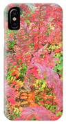 Colorful Fall Leaves Autumn Crepe Myrtle IPhone Case