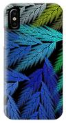 Colorful Feather Fern - Abstract - Fractal Art - Square - 3 Ll IPhone Case
