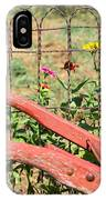 Colorful Fence Row IPhone Case
