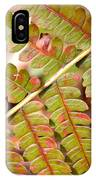 Colorful Fern Square IPhone Case