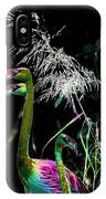 Colorful Flamingos IPhone Case