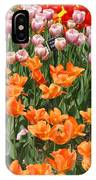Colorful Flower Bed IPhone Case