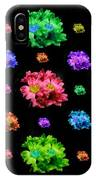 Colorful Flowers Duvet IPhone Case