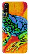 Colorful Frog IPhone Case