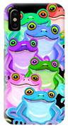 Colorful Frogs IPhone Case