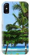 Colorful Greens And Blues IPhone Case