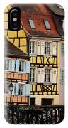 Colorful Homes Of La Petite Venise In Colmar France IPhone Case