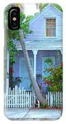 Colorful Key West Cottage IPhone Case