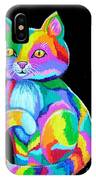 Colorful Kitten IPhone Case