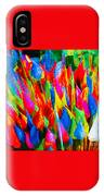 Colorful Leafs IPhone Case