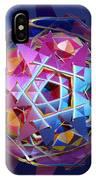 Colorful Metallic Orb IPhone Case