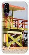 Colorful Ocean Rescue Miami IPhone Case