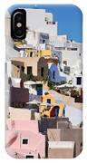 Colorful  Oia IPhone Case