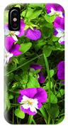 Colorful Pansies IPhone Case