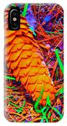 Colorful Pinecone IPhone X Case