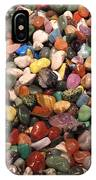 Colorful Polished Stones IPhone Case