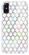 Colorful Quatrefoil IPhone Case