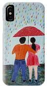 Colorful Rain IPhone Case