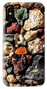 Colorful Rock Wall With Border IPhone Case