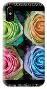 Colorful Rose Spirals Happy Mothers Day Hugs And Kissed IPhone Case