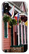 Colorful Row Houses IPhone Case