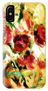 Colorful Spring Bouquet - Abstract  IPhone Case